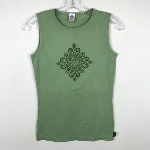 Prana Green Top Size Small